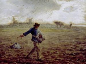 The Sower, C.1865 by Jean-François Millet