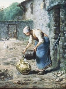 The Woman at the Well, C.1866 by Jean-François Millet