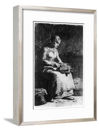 The Wool Carder, C1835-1875