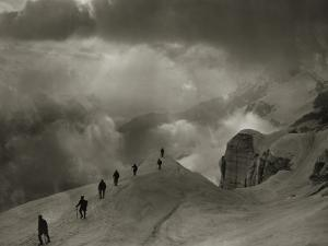 Mountaineers on Campo Tencia by Jean Gaberell