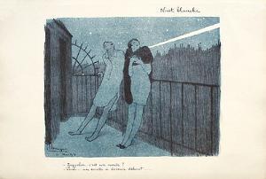 Nuit Blanche by Jean-Gabriel Domergue