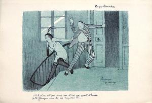 ZeppeIInade by Jean-Gabriel Domergue