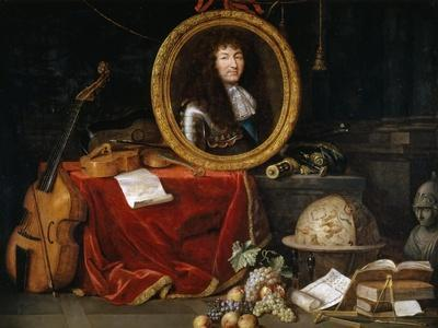 Allegory of Louis XIV, Protector of Arts and Sciences
