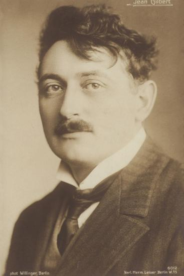 Jean Gilbert, German Operetta Composer--Photographic Print