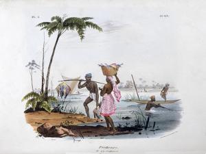 Fisherman, 1828 by Jean Henri Marlet