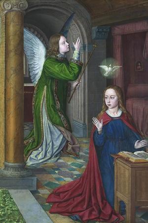 The Annunciation, 1490-95