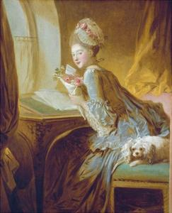 The Love Letter by Jean-Honor? Fragonard