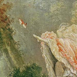 The Swing (Detail) by Jean-Honor? Fragonard
