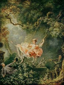 The Swing by Jean-Honor? Fragonard