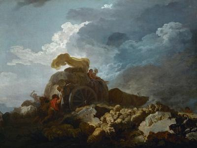 Thunderstorm, or the Cart Stuck in the Mud, 1759?