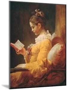 Young Girl Reading, about 1776 by Jean-Honor? Fragonard