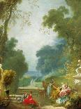 Young Girl Reading, about 1776-Jean-Honoré Fragonard-Giclee Print