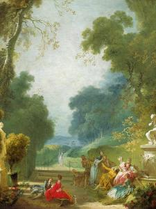 A Game of Hot Cockles, c.1775-80 by Jean-Honore Fragonard