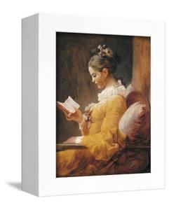 A Young Girl Reading by Jean-Honoré Fragonard
