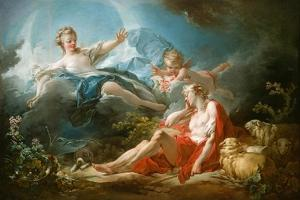 Diana and Endymion, c.1753-56 by Jean-Honore Fragonard