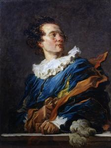 Figure of Fantasy: Portrait of the Abbot of Saint-Non, 1769 by Jean-Honore Fragonard