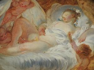 Fuel to the Fire by Jean-Honoré Fragonard