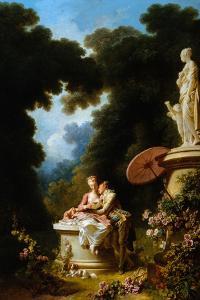 Love Letters by Jean-Honoré Fragonard