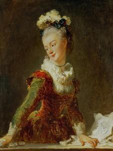 Marie-Madeleine Guimard (1743-1816), Prima Ballerina of the Paris Opera by Jean-Honoré Fragonard