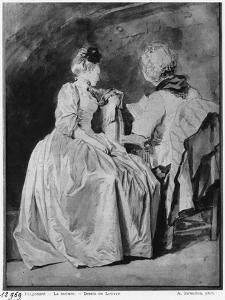 Reading by Jean-Honoré Fragonard