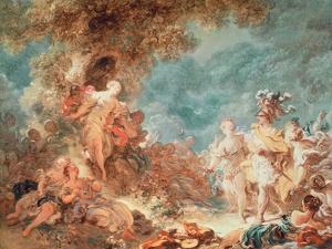 Rinaldo in the Garden of the Palace of Armida by Jean-Honoré Fragonard