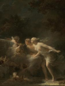 The Fountain of Love, c.1785 by Jean-Honore Fragonard