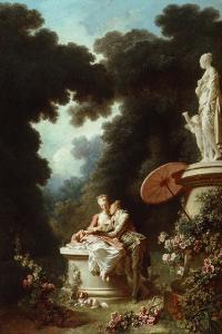 The Progress of Love: Love Letters, 1771-72 by Jean-Honore Fragonard