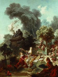 The Progress of Love: The Lover Crowned, 1771-72 by Jean-Honore Fragonard