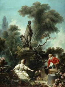 The Progress of Love: The Meeting, 1771-72 by Jean-Honore Fragonard