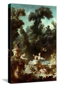 The Progress of Love: The Pursuit, 1771-72 by Jean-Honore Fragonard