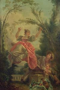 The See-Saw by Jean-Honoré Fragonard