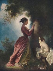 'The Souvenir (Le chiffre d'amour)', c1775-80, (1911) by Jean-Honore Fragonard