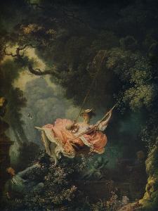 'The Swing', c1767 by Jean-Honore Fragonard