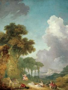 The Swing, Ca. 1765 by Jean-Honoré Fragonard