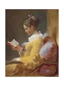 Young Girl Reading, C. 1770 by Jean Honore Fragonard