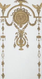 Grand Cabinet intérieur de la Reine (Cabinet doré) by Jean-Hugues Rousseau