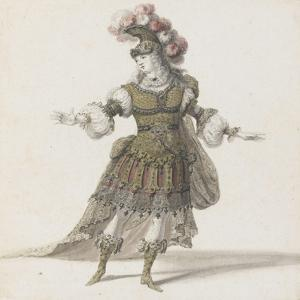 Tome III (1696 DR à 1761DR) : Costumes de fêtes et de mascarades. Théâtre d by Jean I Berain
