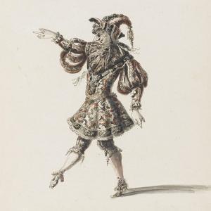 Tome III (1696 DR à 1761DR) : Costumes de fêtes et de mascarades. Théâtre de Louis XIV ; Héros by Jean I Berain