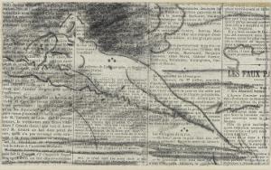 Figure féminine nue, allongée dans un paysage by Jean Jacques Henner
