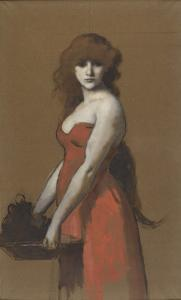 Hérodiade by Jean Jacques Henner