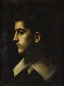 Jacques Langlois by Jean Jacques Henner
