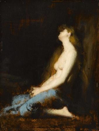 La Magdeleine,étude ou réplique du tableau du salon de 1878