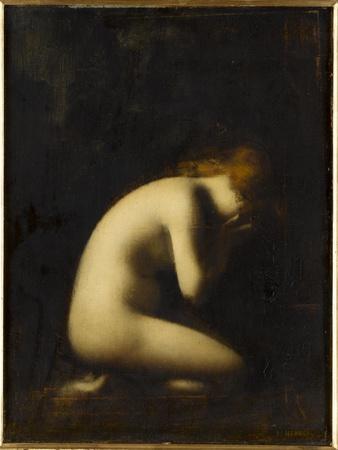 Nymphe qui pleure, réplique du tableau du Salon de 1884