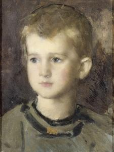 Paul Henner enfant by Jean Jacques Henner