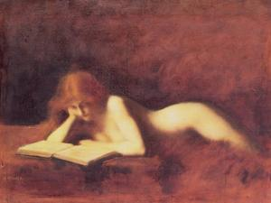 The Reader by Jean-Jacques Henner