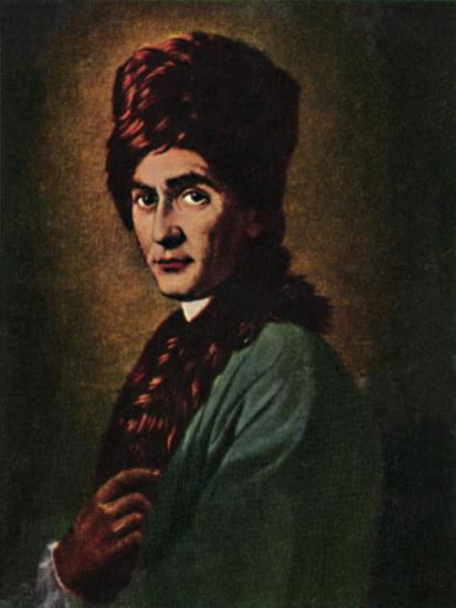 'Jean Jacques Rousseau 1712-1778', 1934-Unknown-Giclee Print