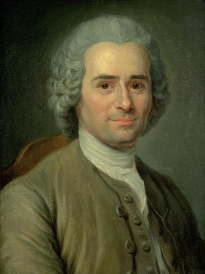 Jean-Jacques Rousseau (1712-78)-Maurice Quentin de La Tour-Giclee Print