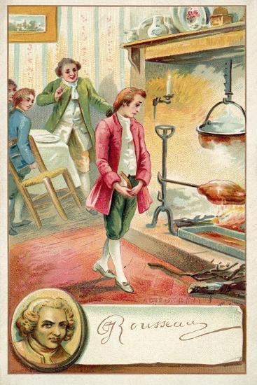 Jean Jacques Rousseau, Swiss Philosopher--Giclee Print