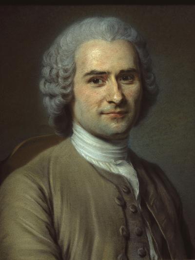 Jean-Jacques Rousseau-Maurice Quentin de La Tour-Giclee Print