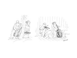 New Yorker Cartoon by Jean-Jacques Semp?